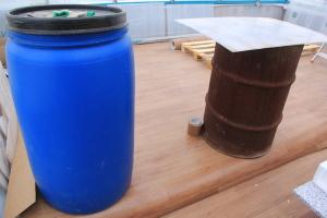 Размещение водяного аккумулятора тепла